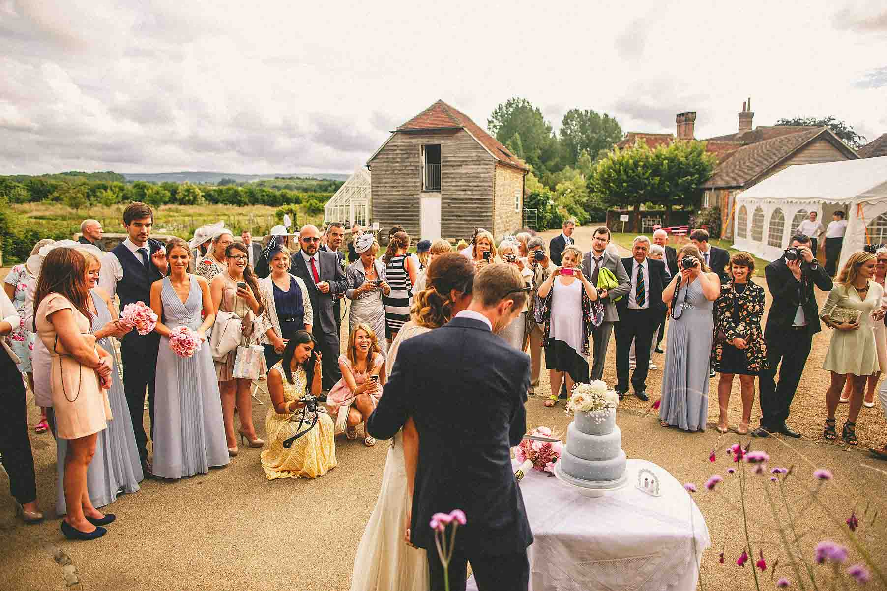 Grittenham Barn Wedding