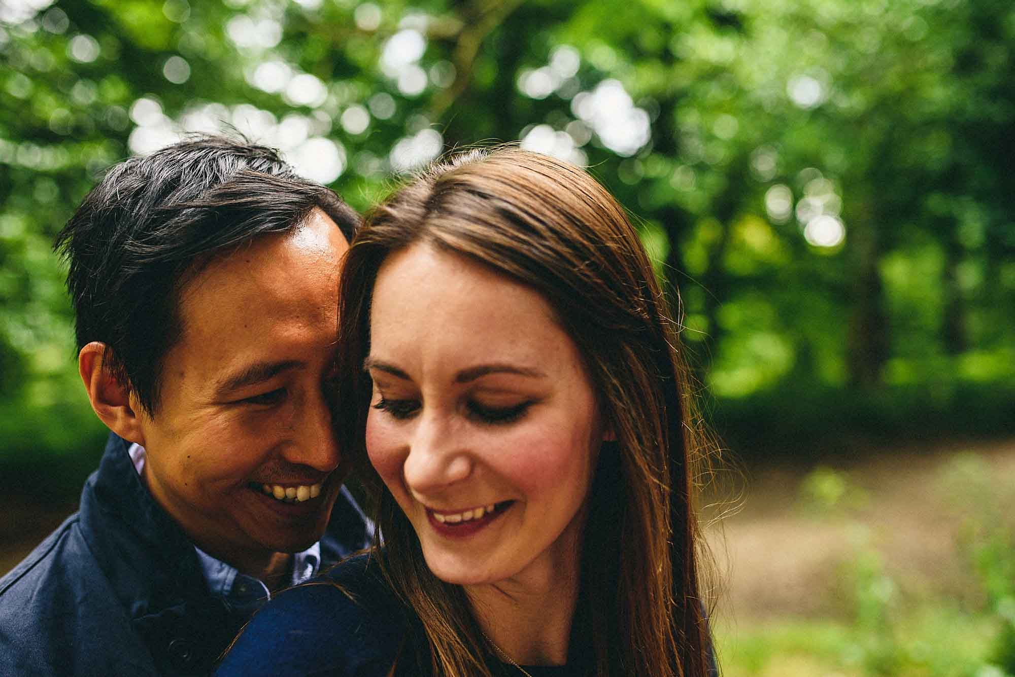Hampstead Heath Engagement Shoot