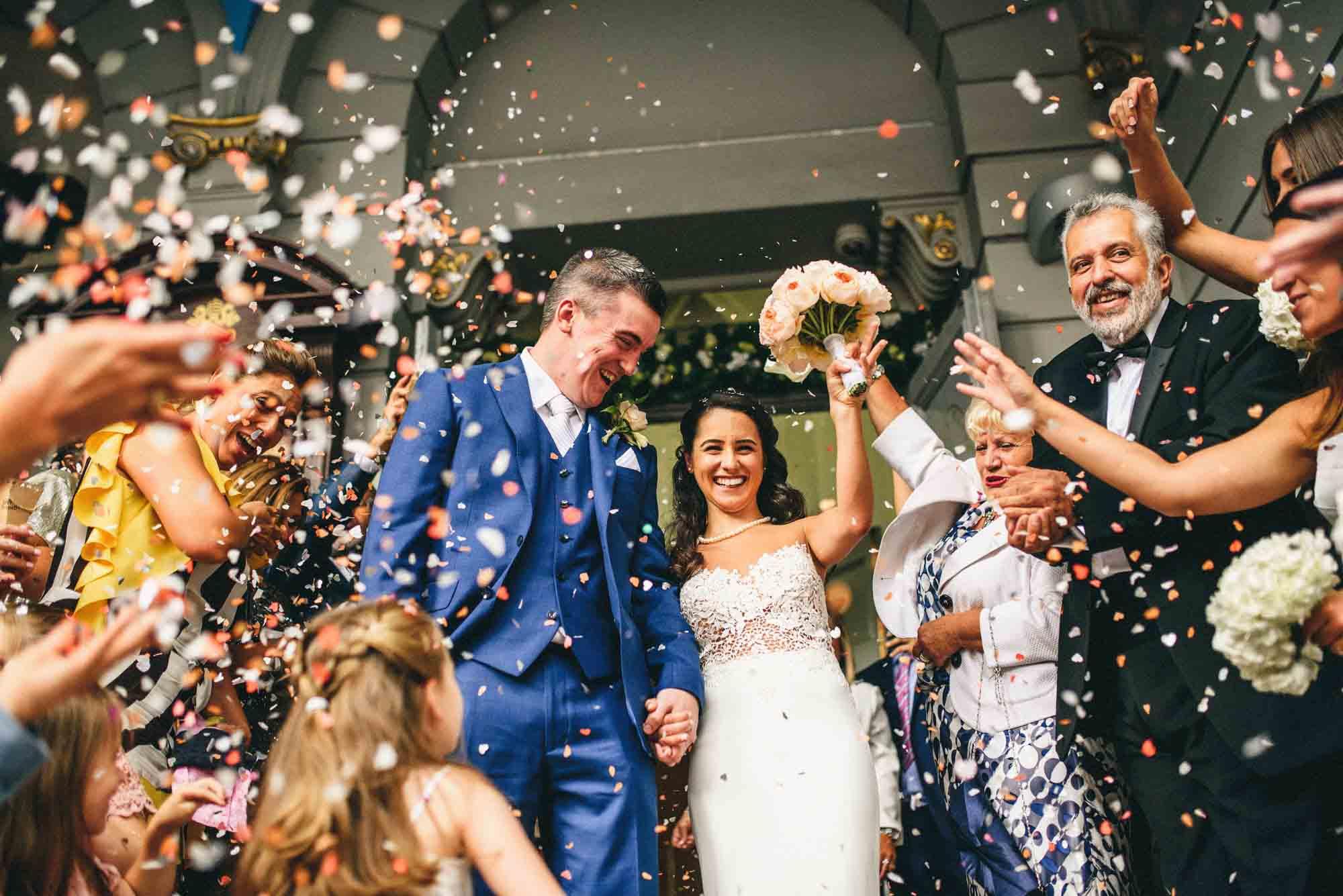 Royal Exchange Wedding