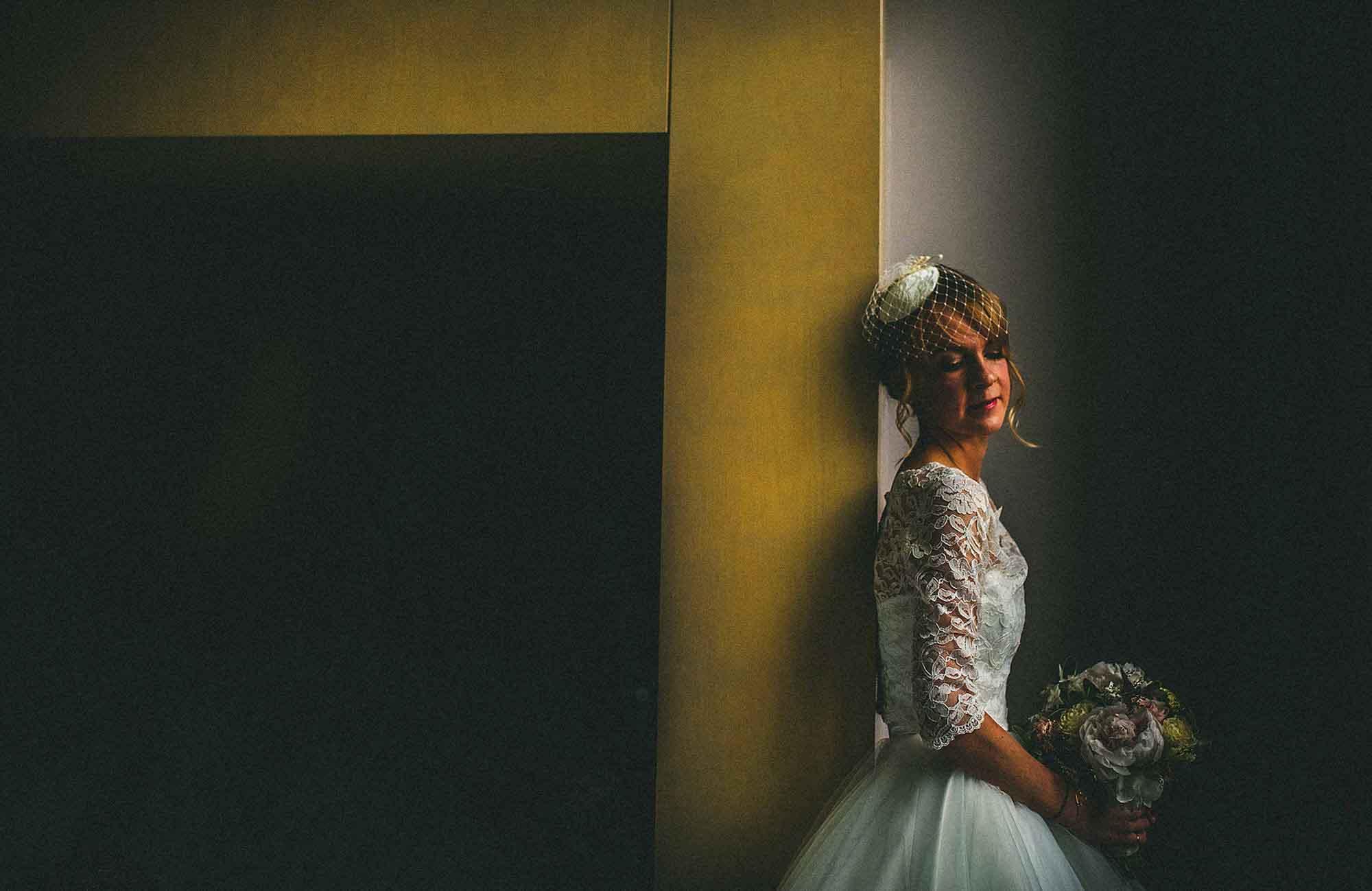 Vintage Bride Wedding Photo