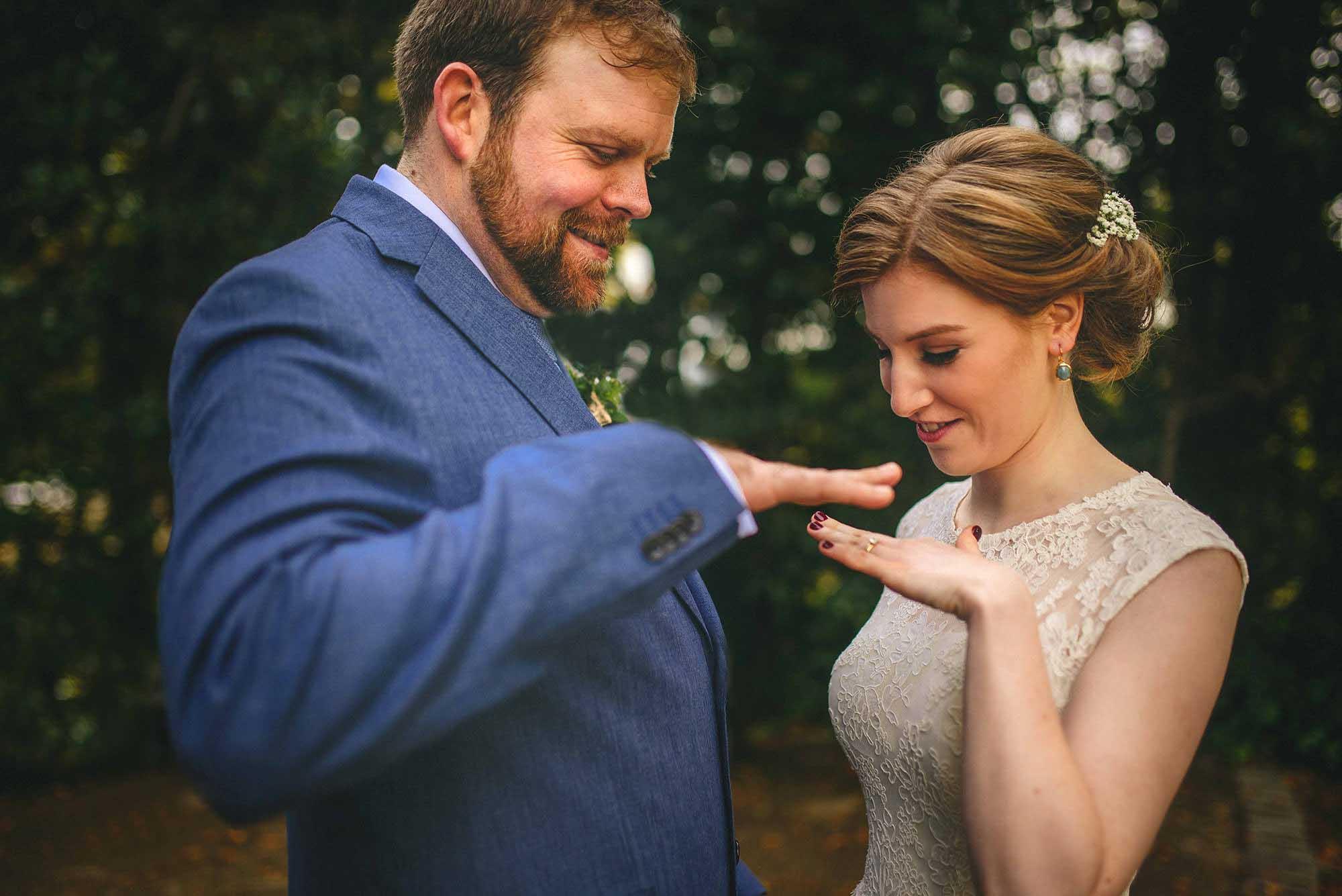 Pembroke Lodge Wedding Photos 5 of