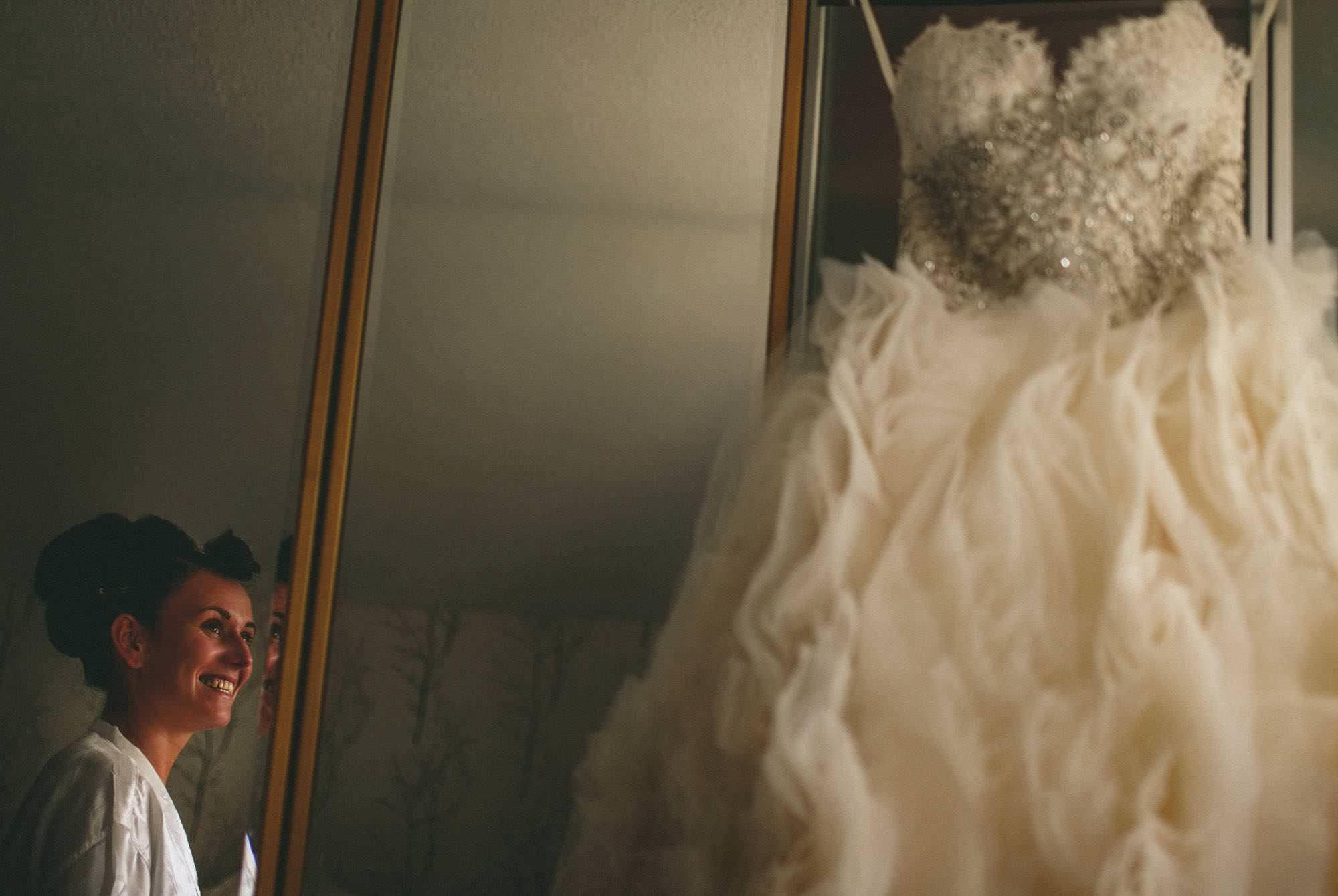 Bridal prep with Lazaro bridal dress Rochester wedding