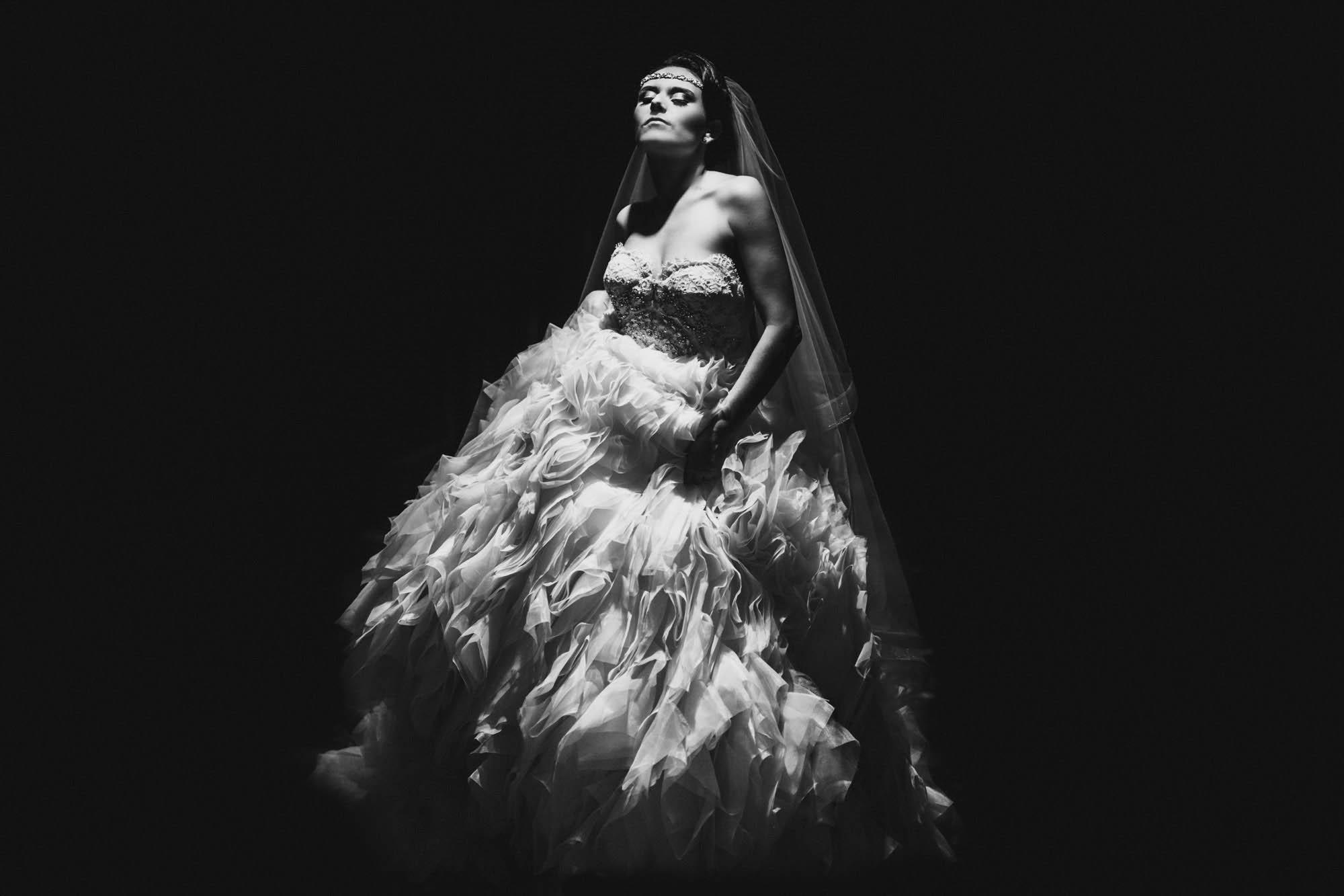 Lazaro bride - Editorial wedding photography Miki Photography