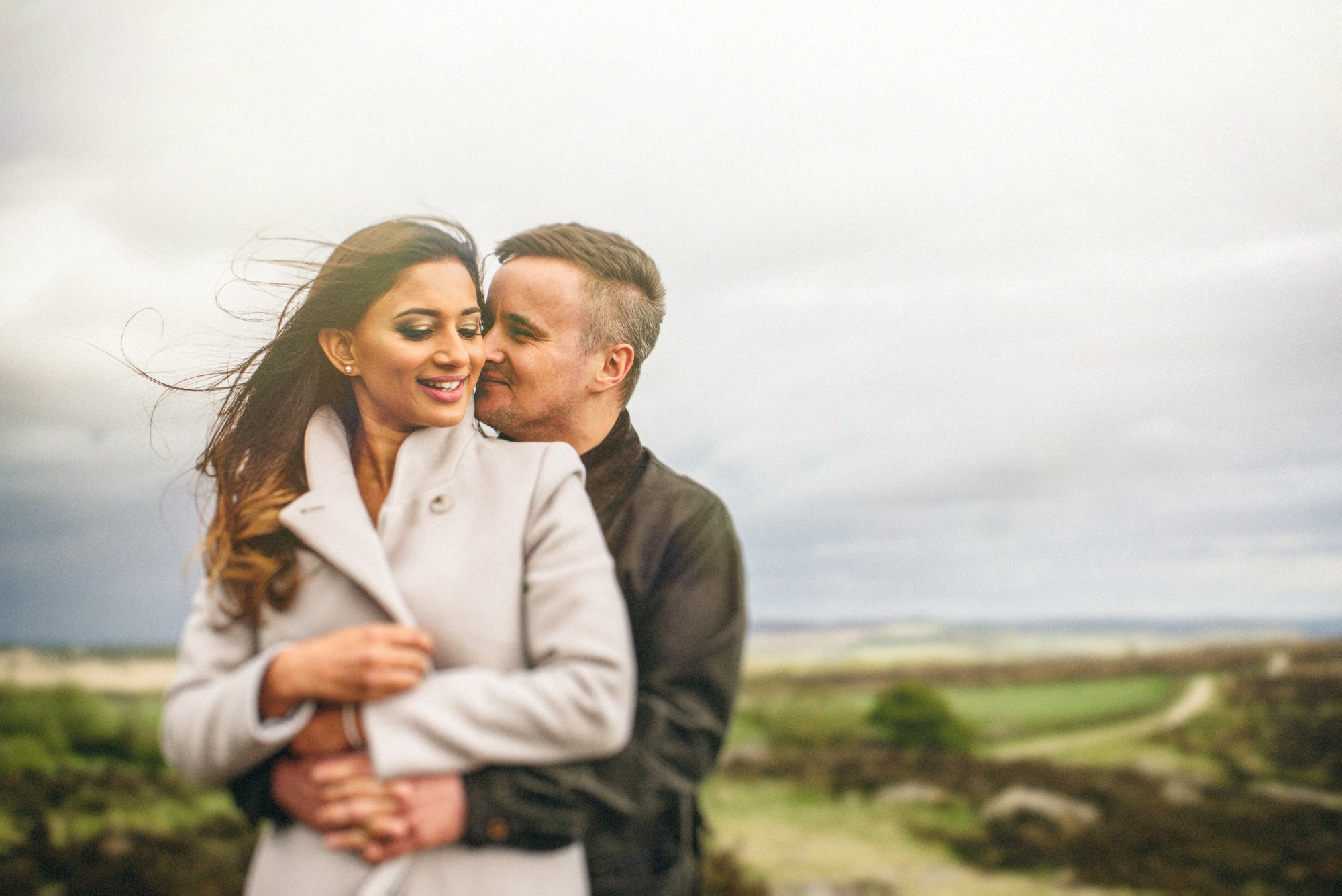 Curbar Edge Engagement Shoot