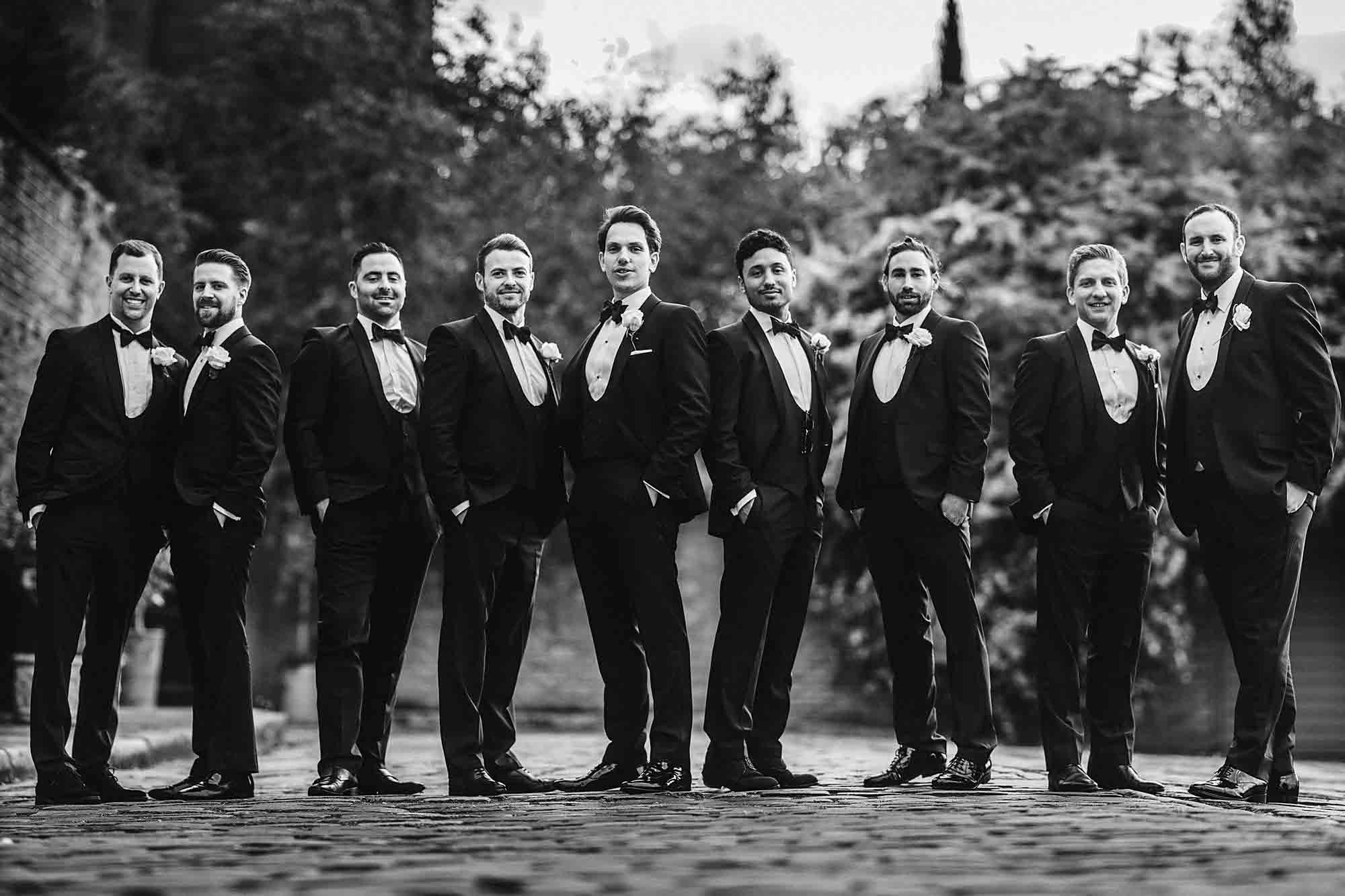 Jewish Groomsmen ideas Photos