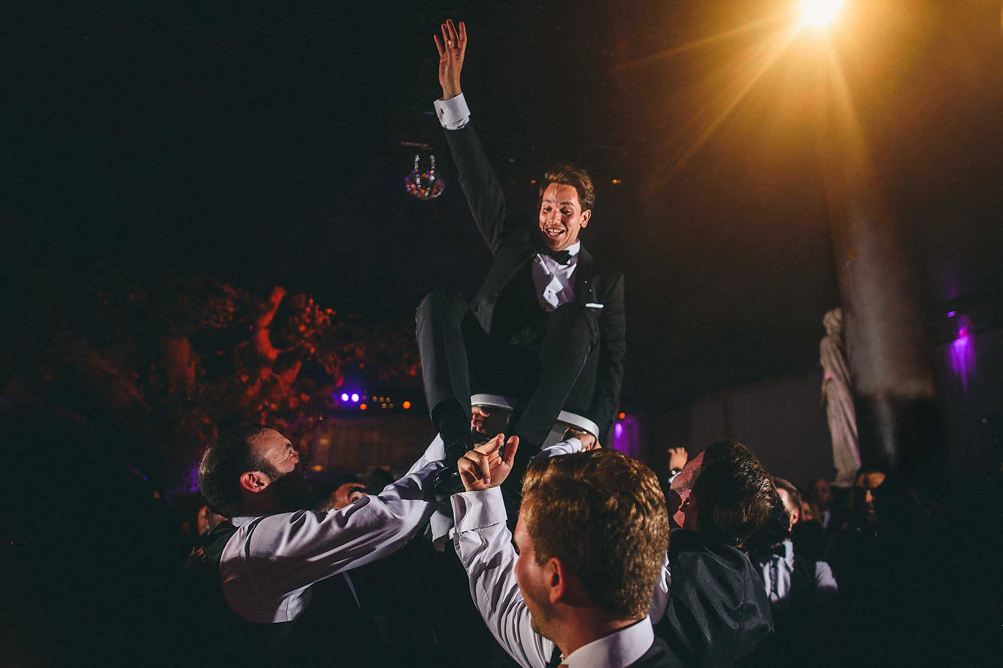 Jewish Groom Chair Dance