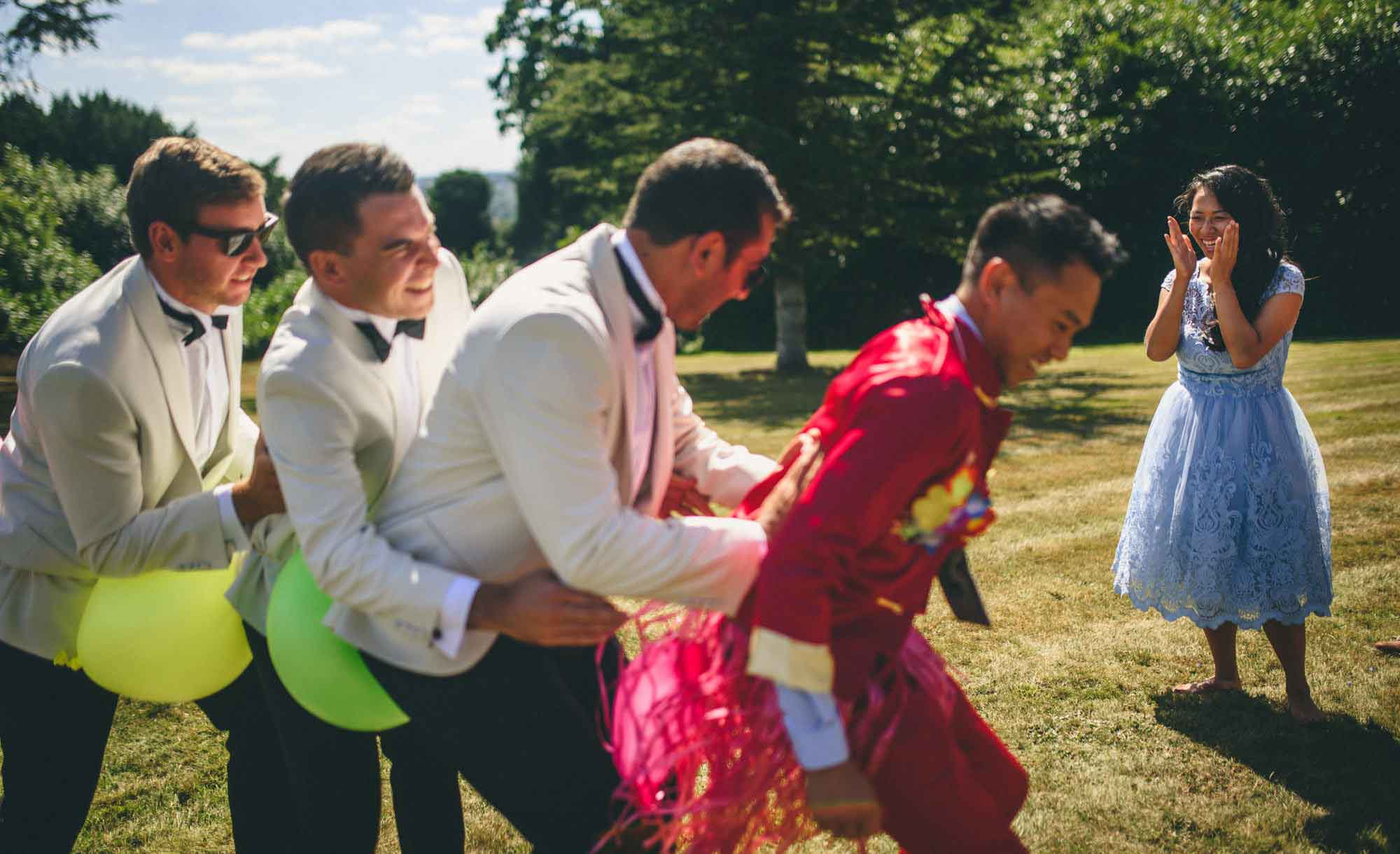 Chinese Groom Games at Hedsor House