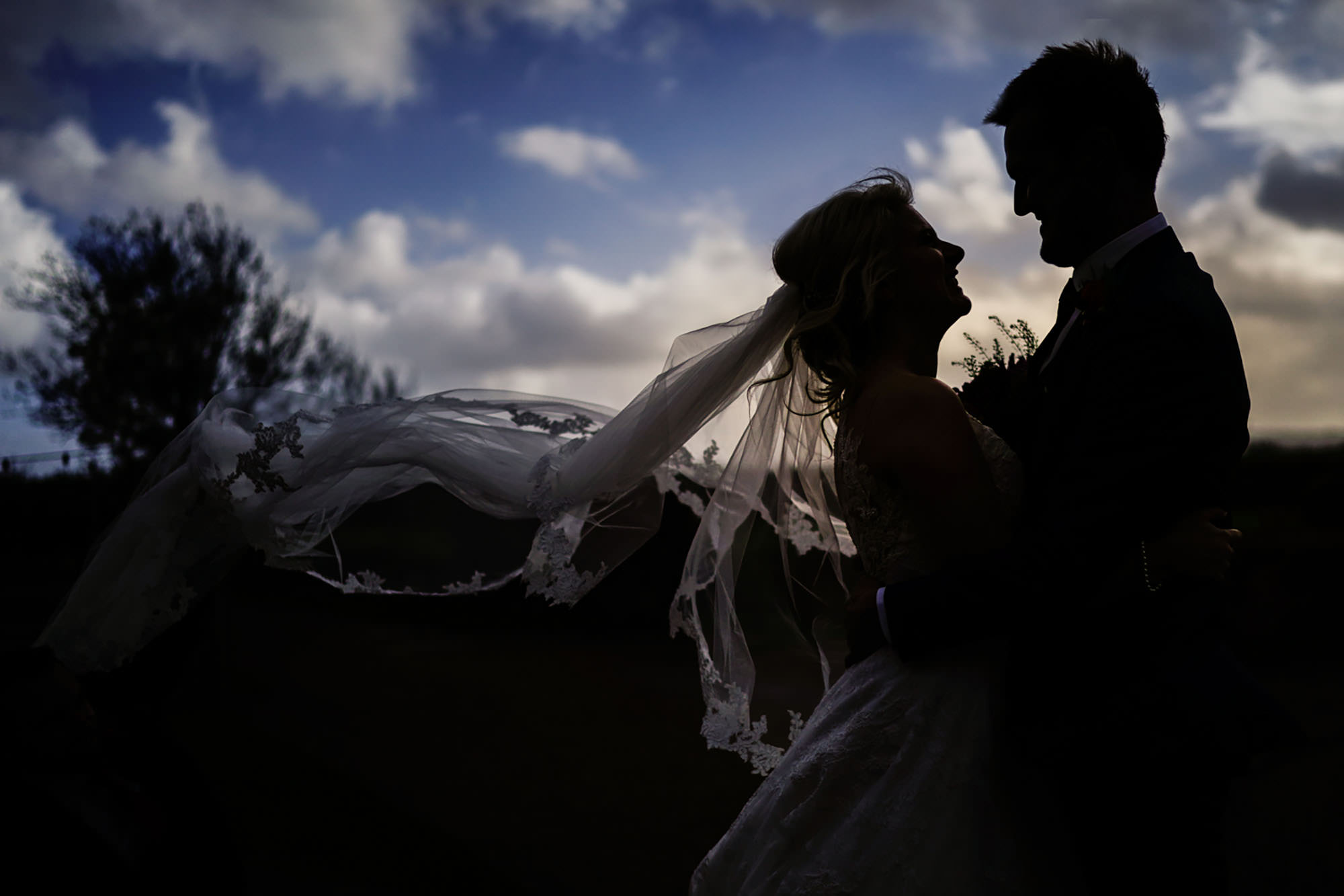 Winter wedding at Grittenham Barn