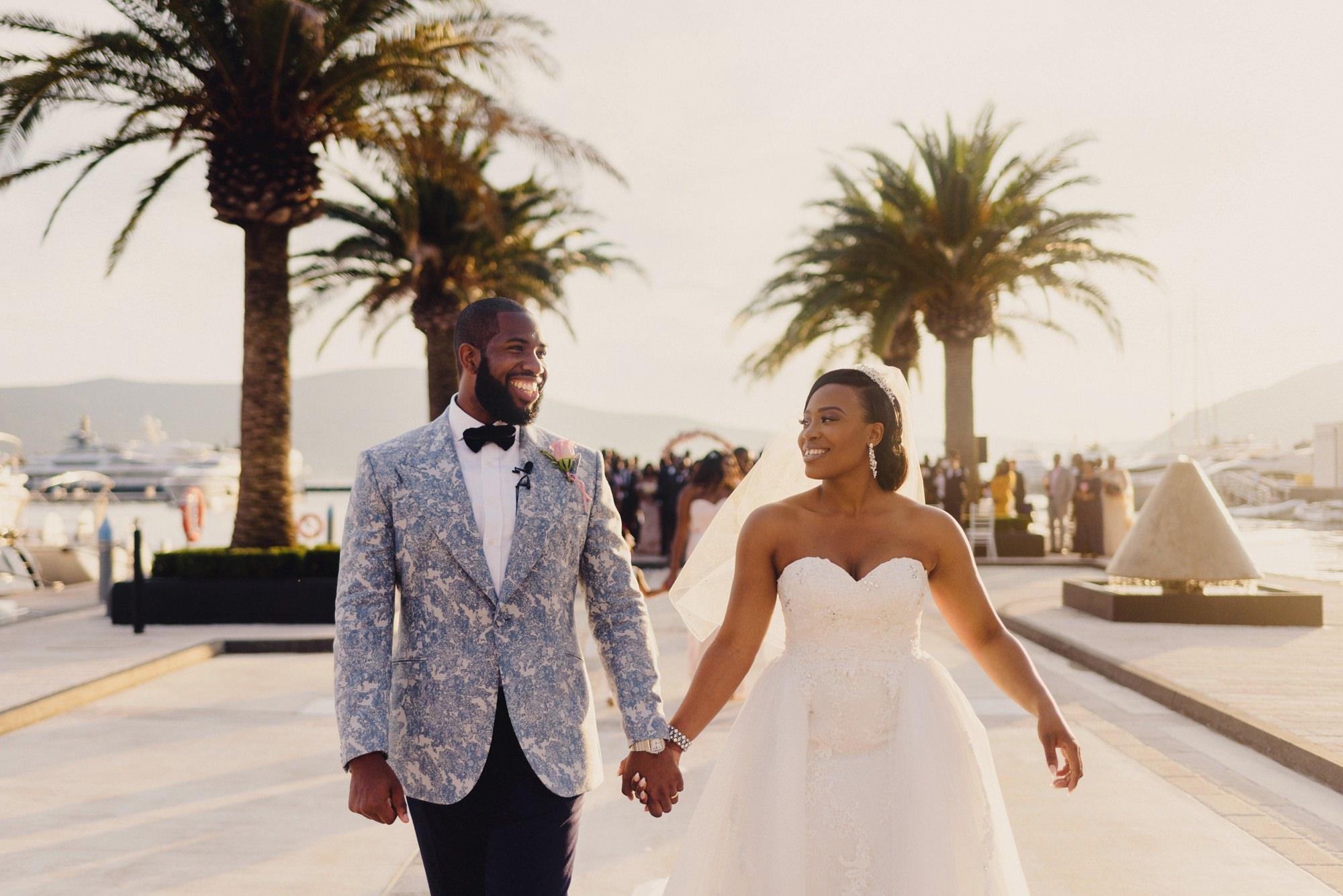 Regent Porto Montenegro Wedding Photographer