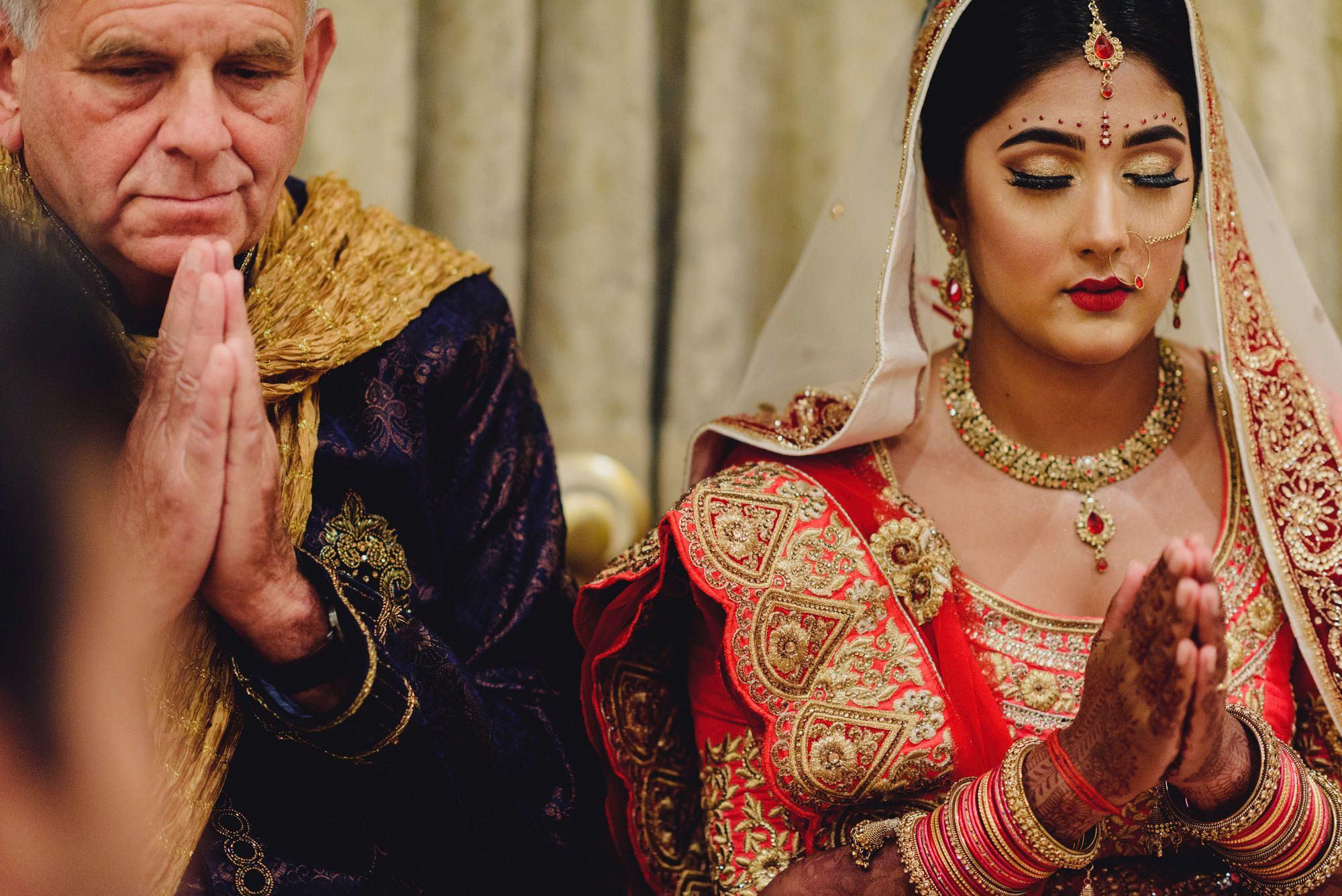 Indian Wedding at Bhaktivedanta Manor