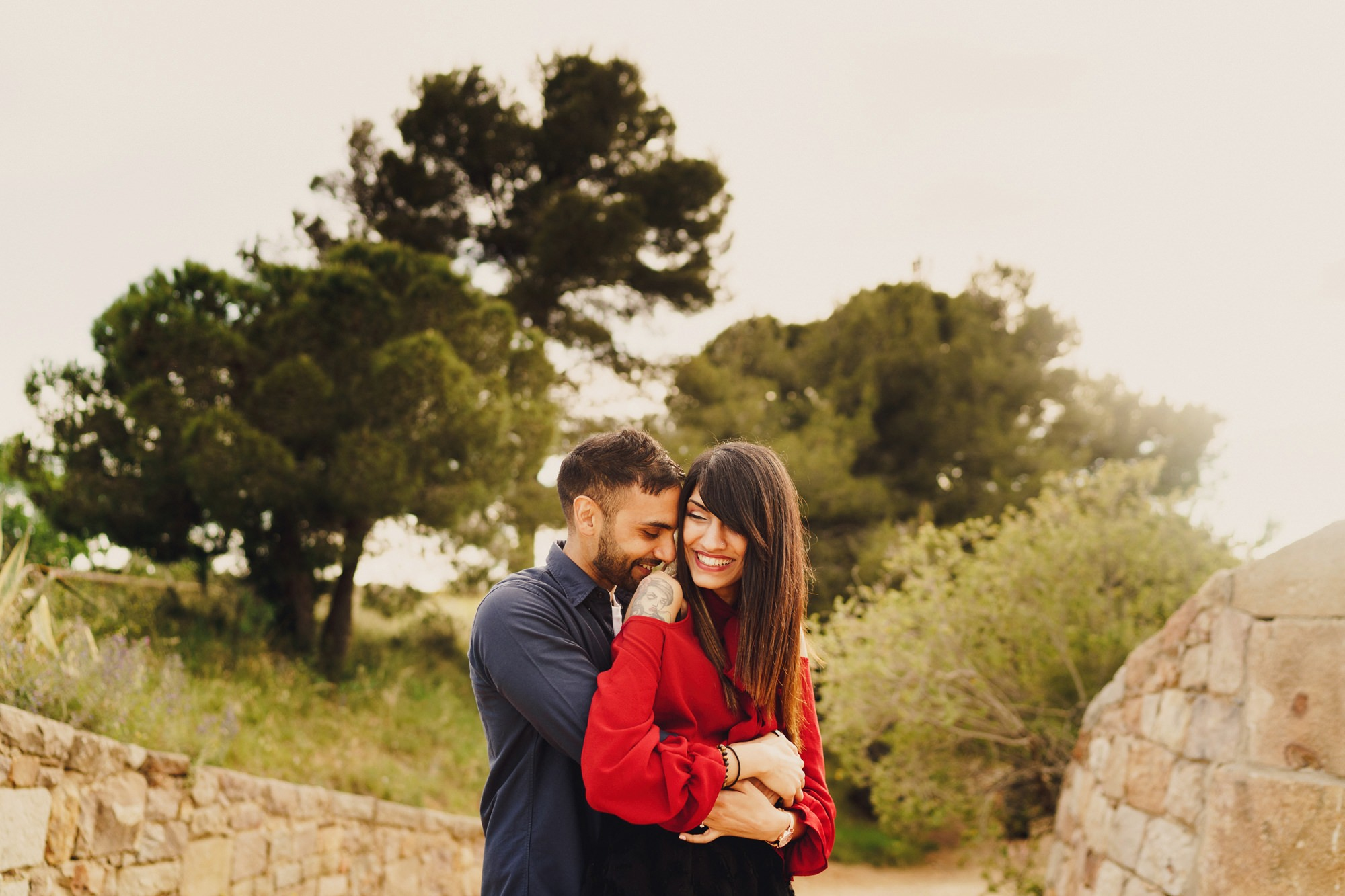 Barcelona Pre Wedding Shoot