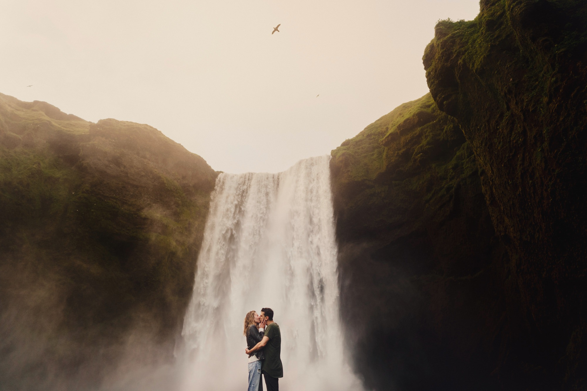 Pre-wedding shoot in Iceland