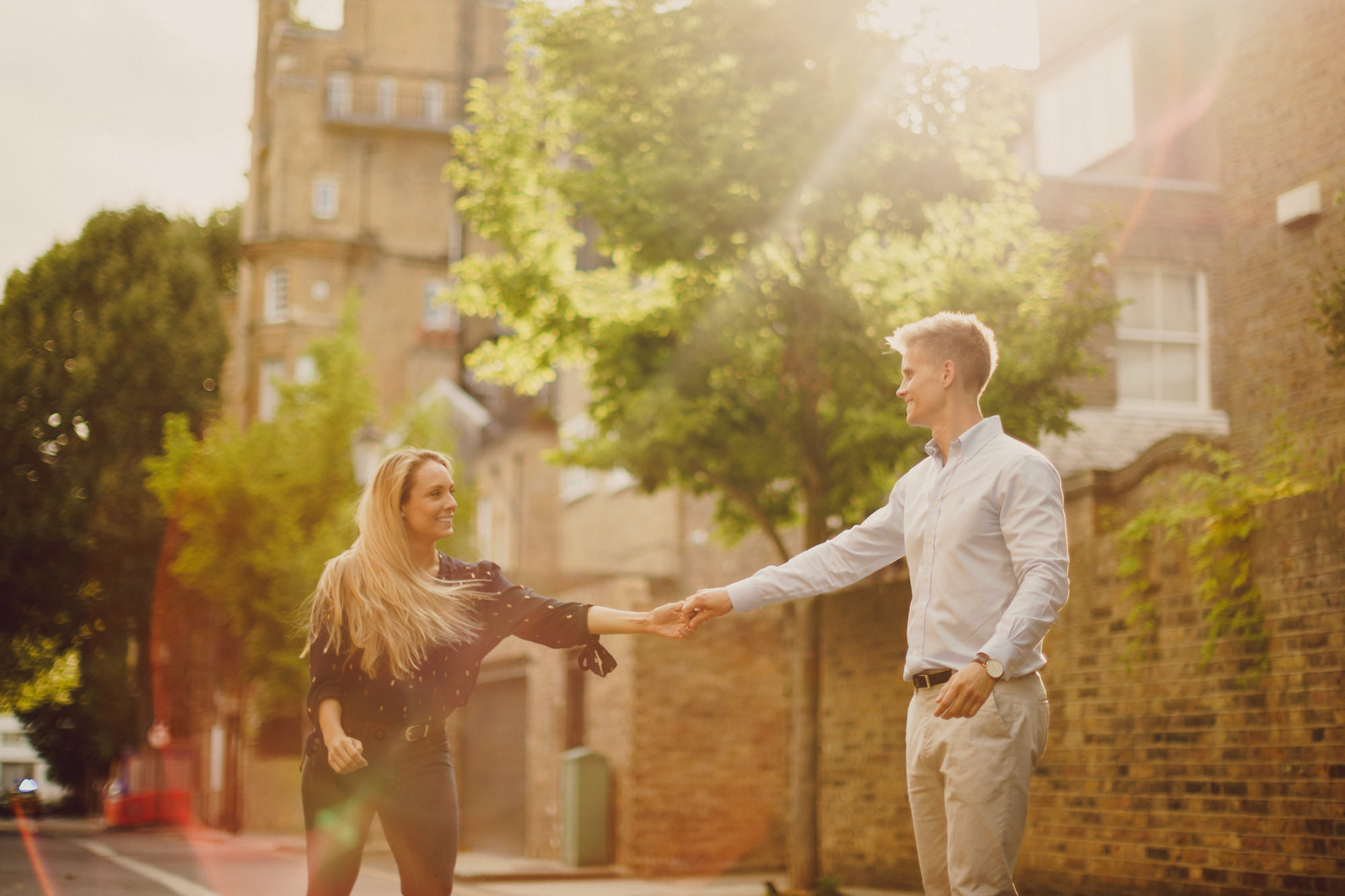 Engagment Shoot in London