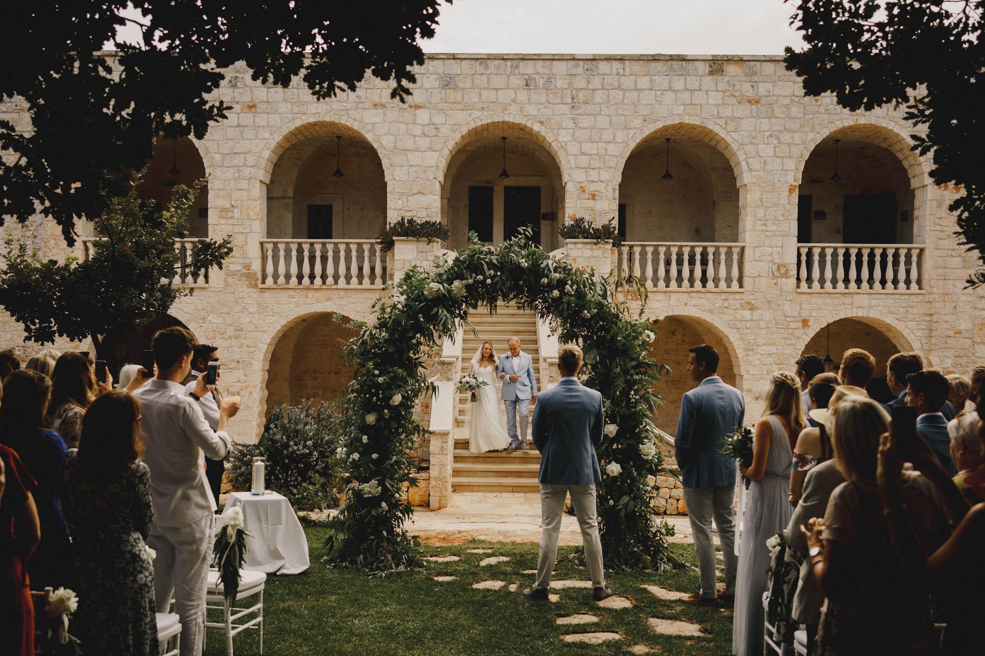 Italy destination wedding photos
