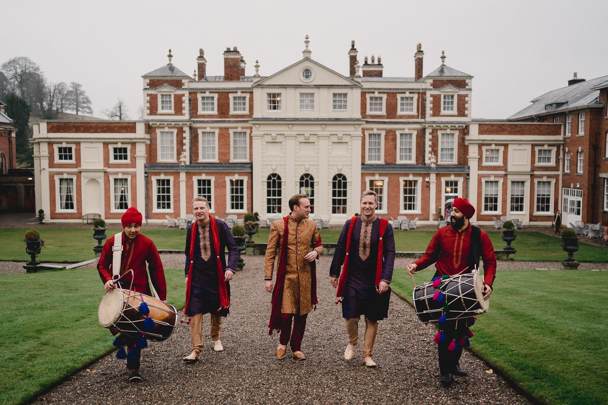 Hawkstone Hall and Gardens Wedding