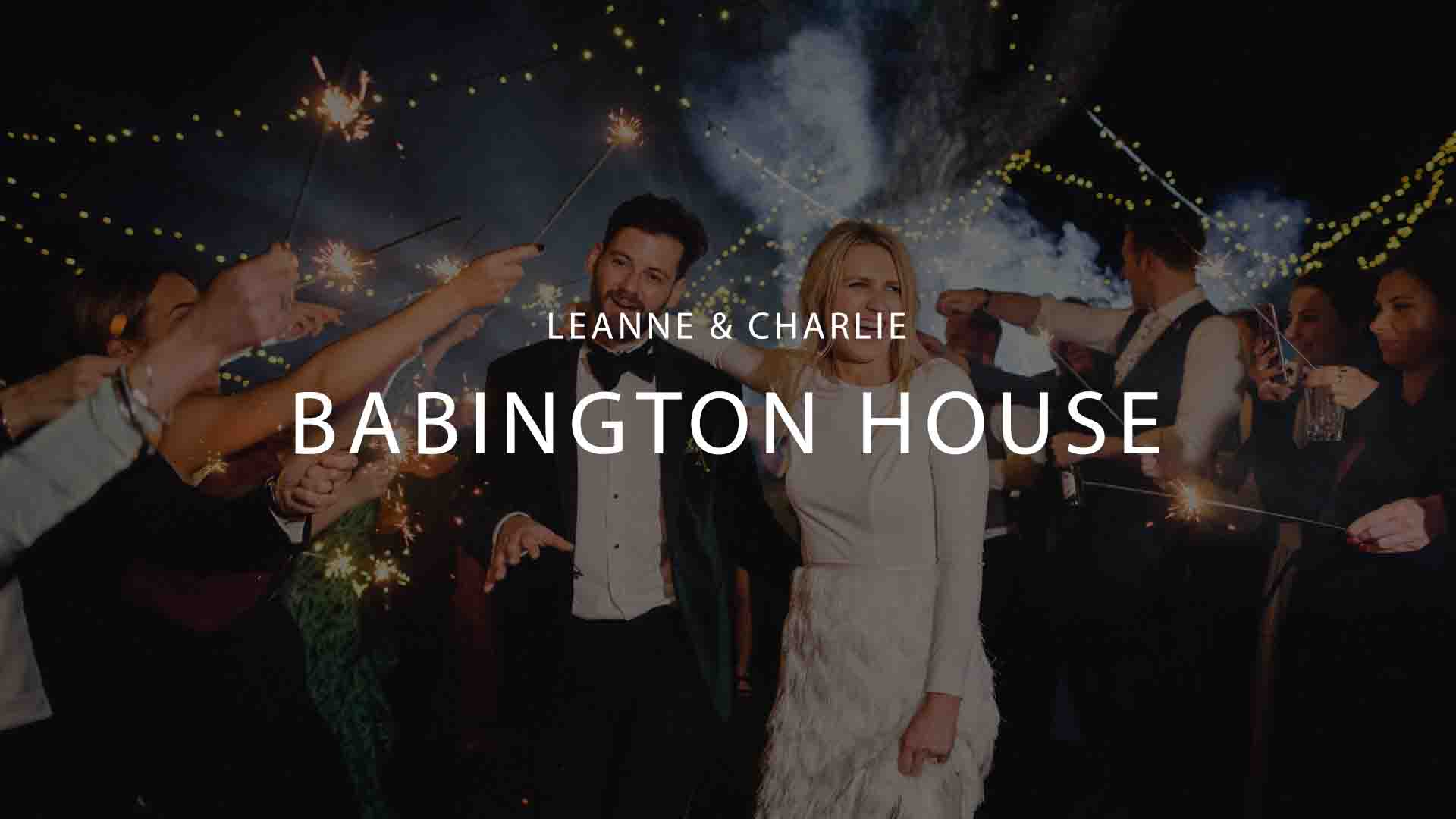 Babington House Wedding Videography