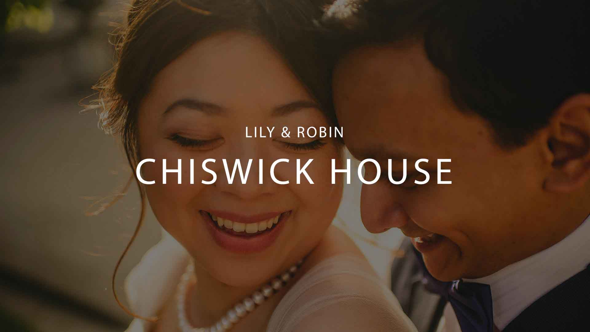 Fun Chiswick House Wedding Party