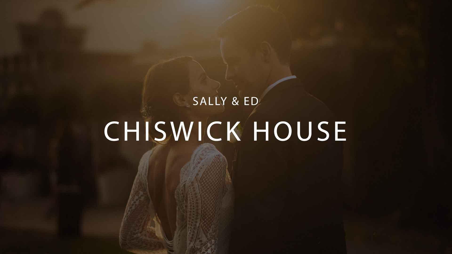Classic Chiswick House Wedding flm