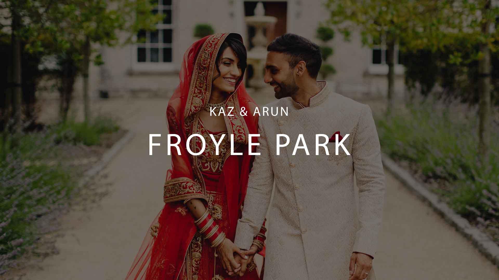 Froyle Park Studios Wedding
