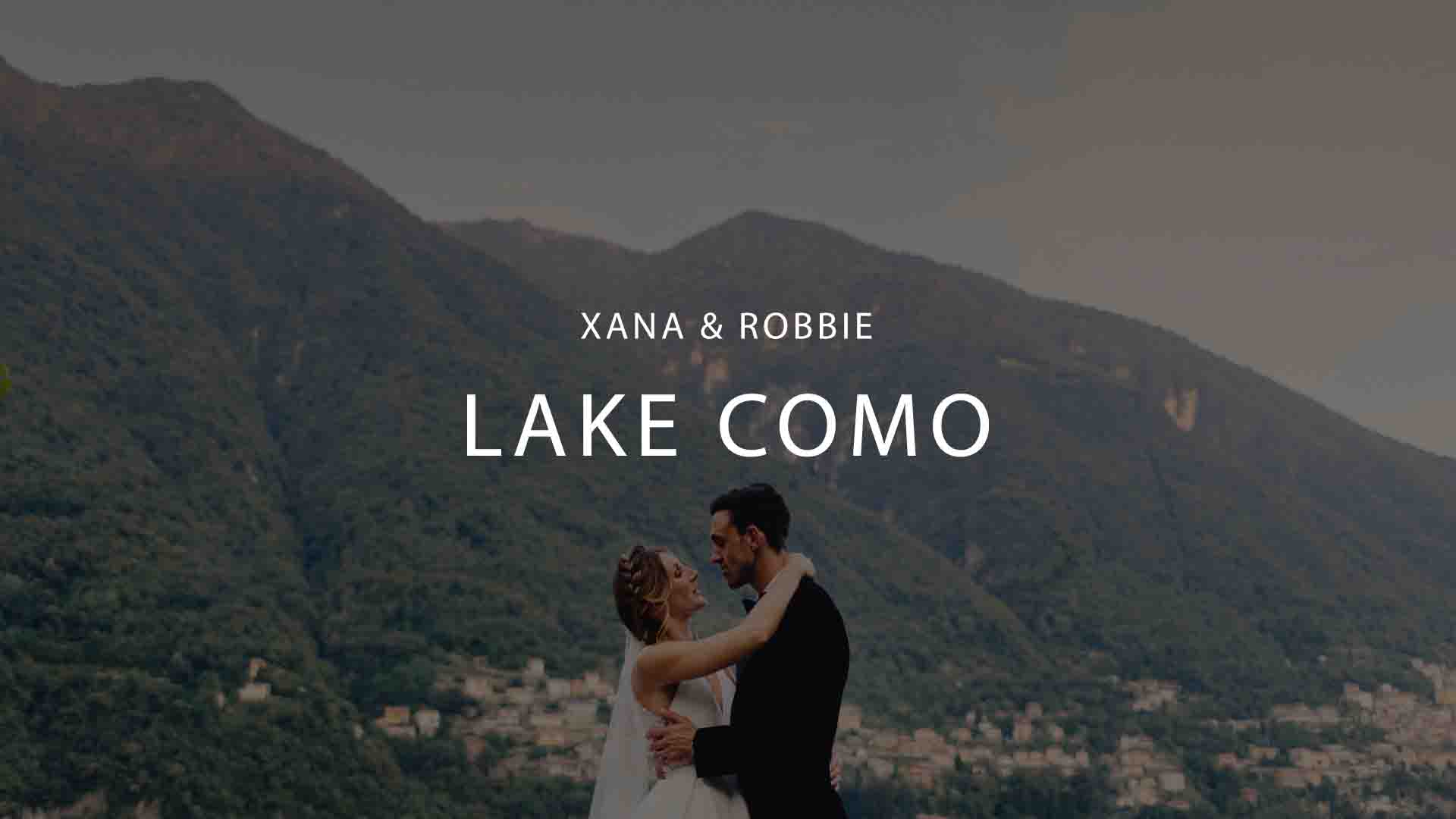 Lake Como Wedding Videographer