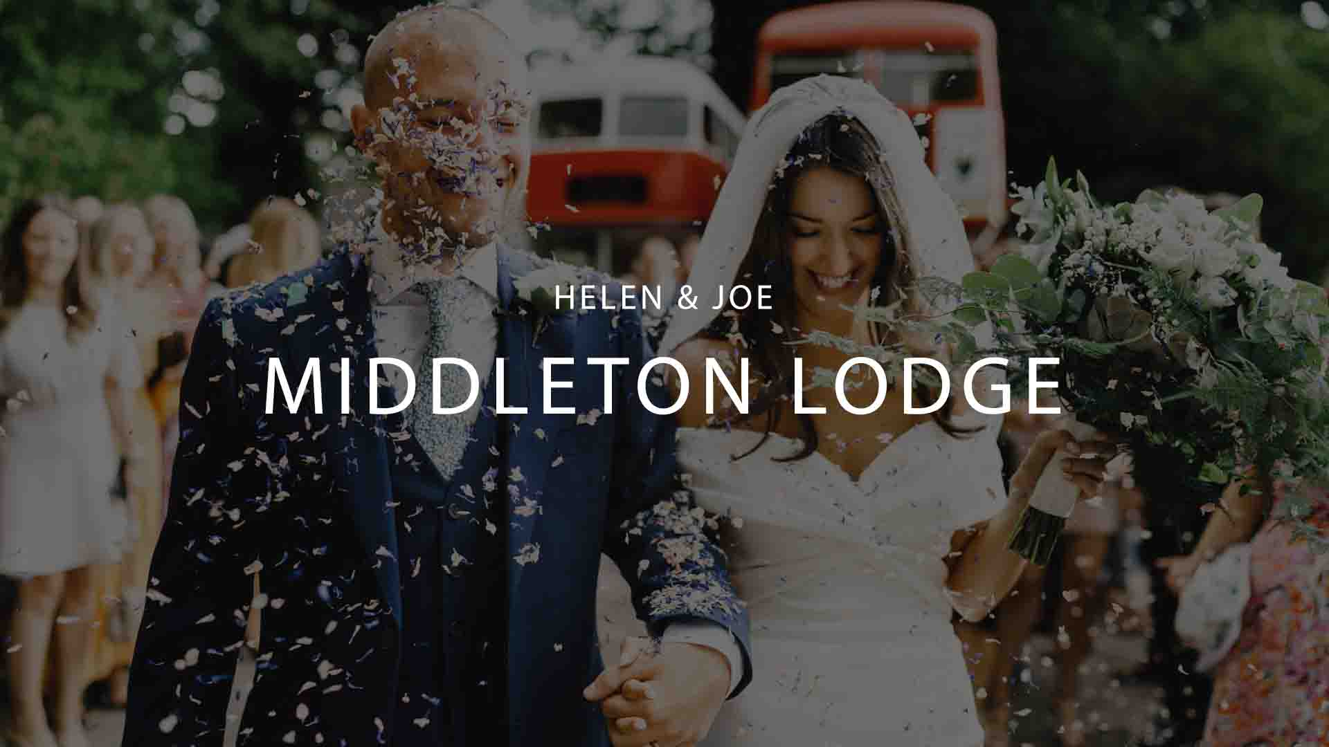 Middleton Lodge Wedding Videographer