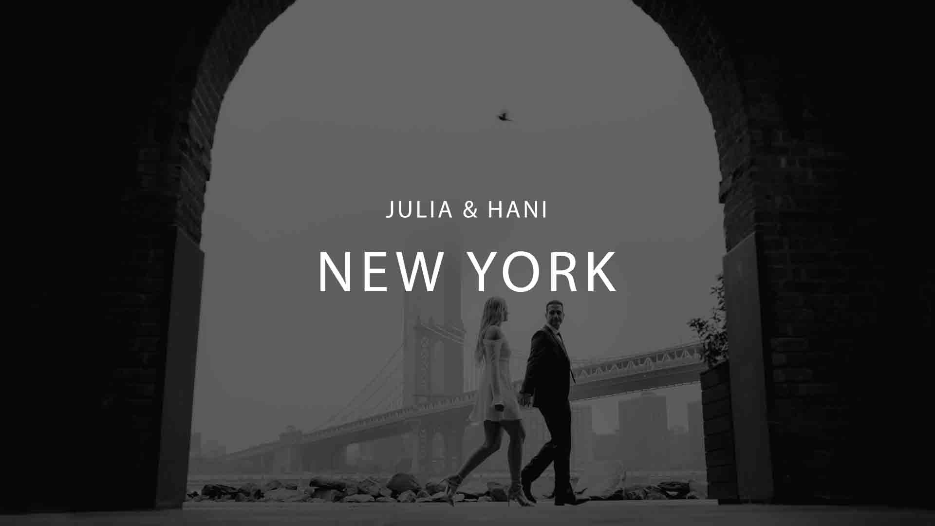 New York Wedding Videography