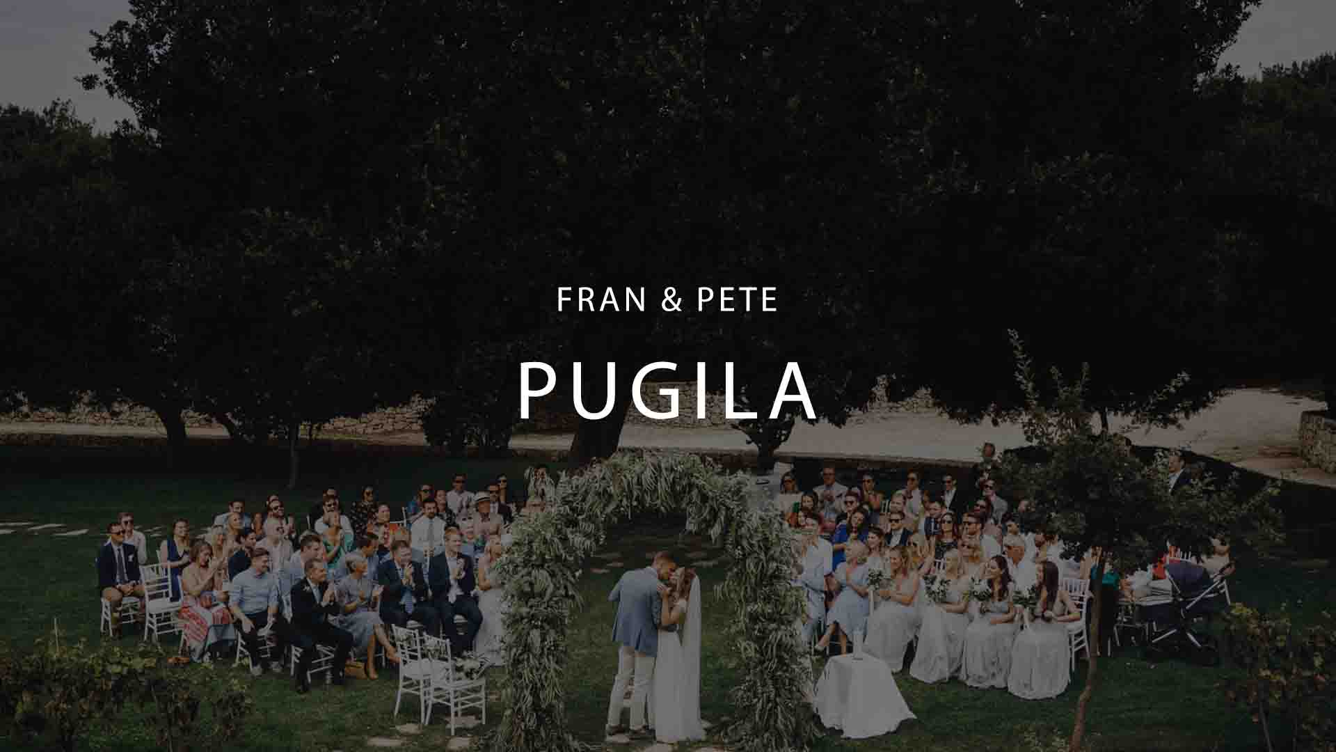 Puglia Wedding Videographer